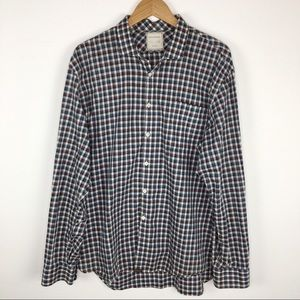 Billy Reid XXL check shirt
